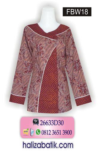 Baju Batik Online Baju Batik Kantor Mode Baju Terkini Fbw18