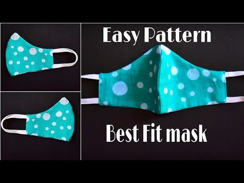 Photo of Make Fabric Face Mask At Home – Easy Face Mask Pattern – DIY Face Mask