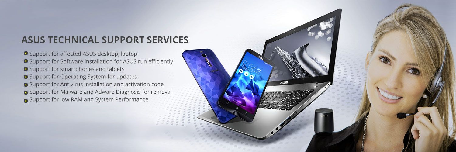 Our Asus Technical Support services include a wide range