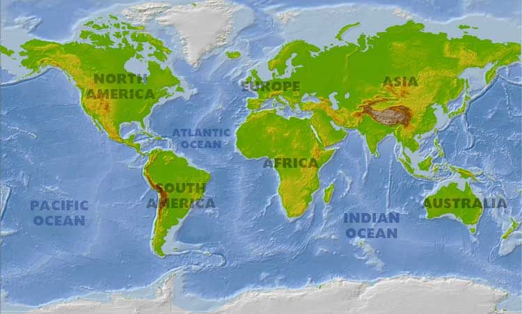 Atlantic Ocean Disappearing in 200 Million Years Science is Neat