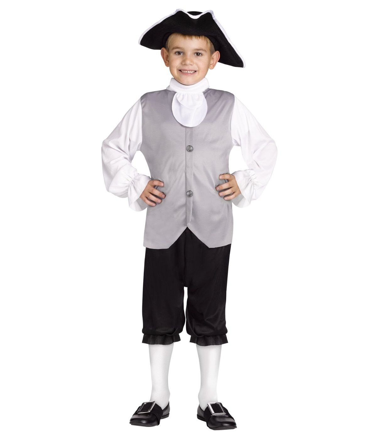 Historic Colonial Boys Costume - Historic Costumes | Colonial days ...