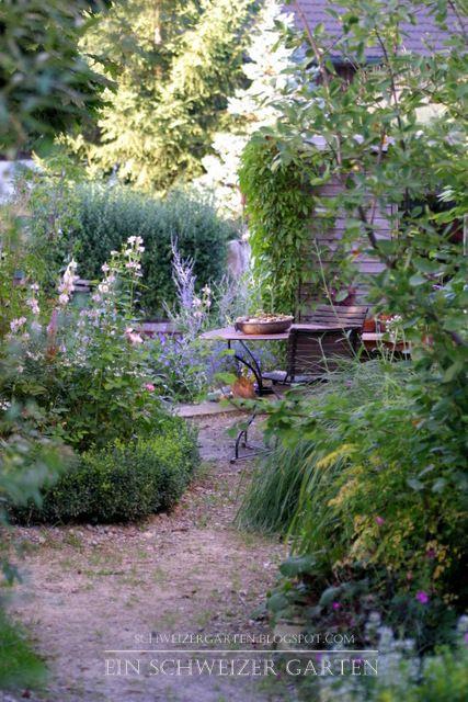 Ein Schweizer Garten | Garten Eden | Pinterest | Gärten, Erhöhte ... Besondere Ideen Gartengestaltung
