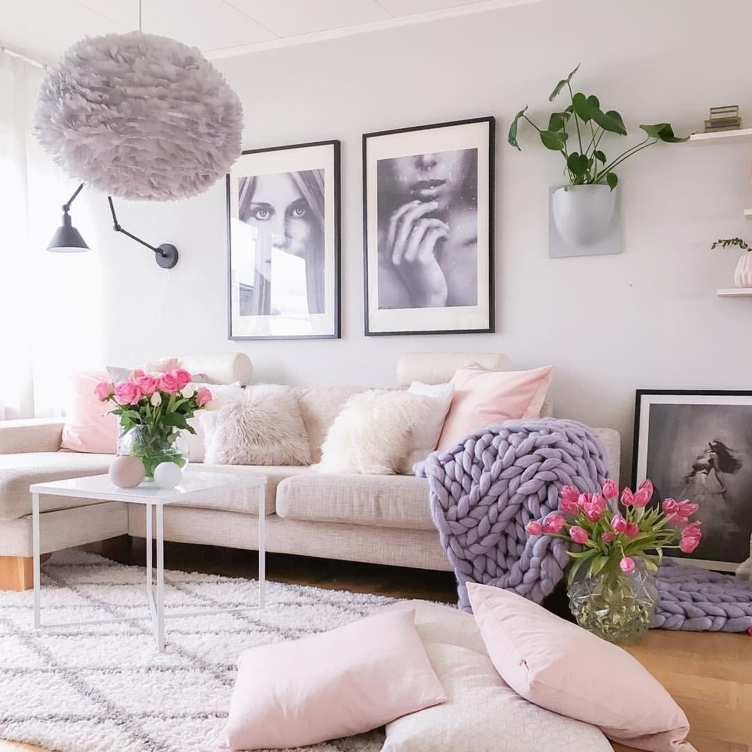 Light + bright living room | Interior Design | Pinterest | Living ...