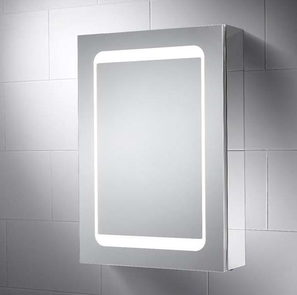 Atlanta 500 X 700 Mm Led Illuminated Bathroom Mirror Cabinet Save 300 00 Mirror Cabinets Bathroom Mirror Cabinet Led Mirror
