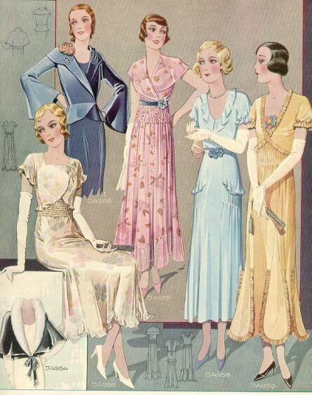 84cc20da64 Lady Doki Szöszi: Divat történelme V.rész | vintage fashion ...