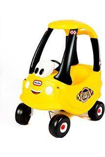 Little Tikes - 0706039 - Porteur - Cozy Coupe Taxi