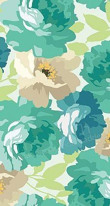 Flower Pattern 2 Resimli Kılıf | MobilCadde.com