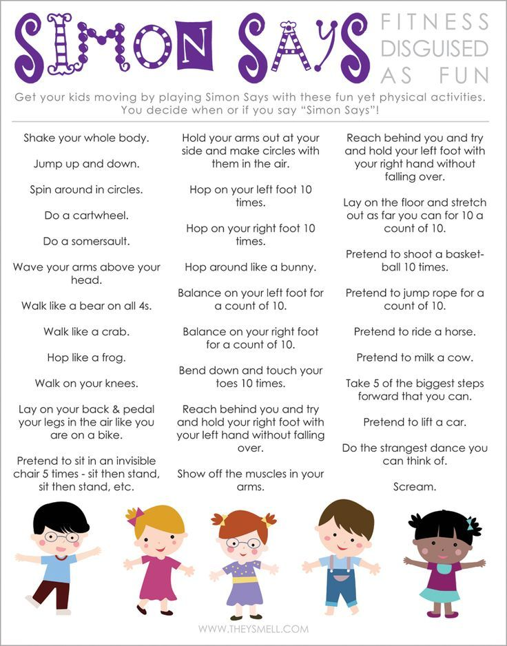 free printable to help keep kids healthy active - Printable Activities For Children
