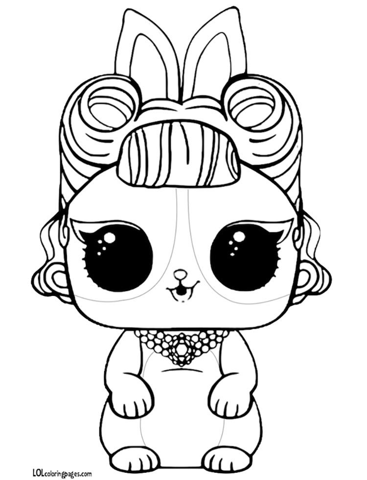 Pin by Anya Amir on Lol surprise Coloring pages Cute