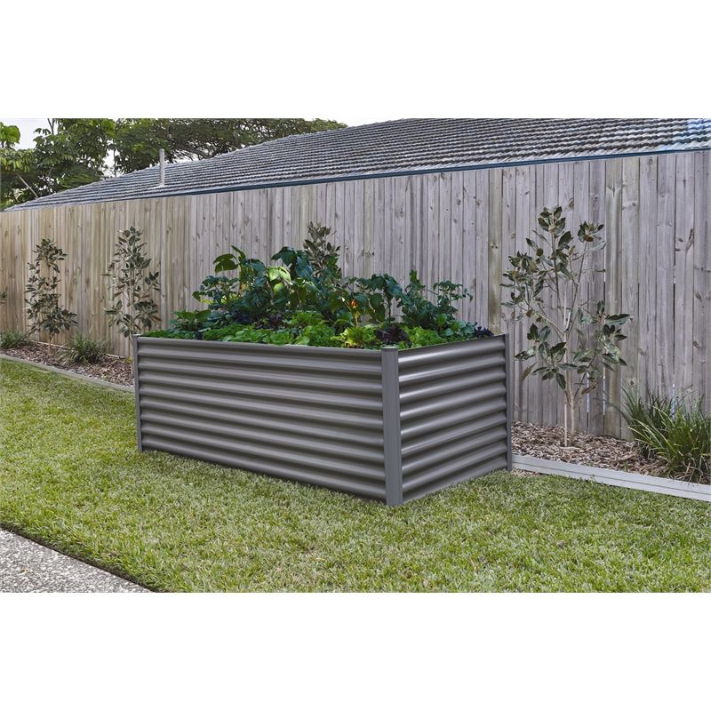 The Organic Garden Co 200 x 100 x 73cm Raised Rectangle