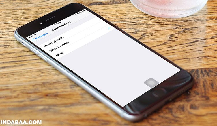 How To Turn Off Message Preview On Iphone Lock Screen In Ios 11 Iphone Ios 11 Buy Cell Phones Online