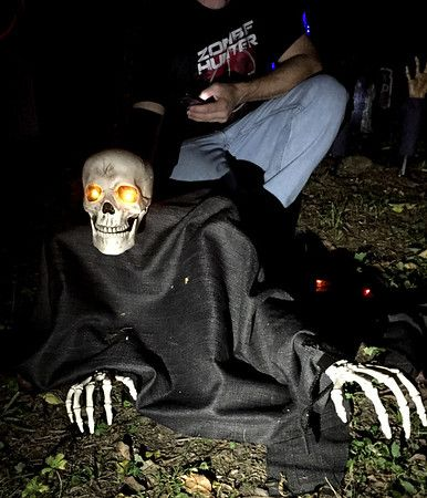 Haunted Trail of Tears - Grave Grabber 2 (LifeIntrigued/blog - halloween cheap decorations