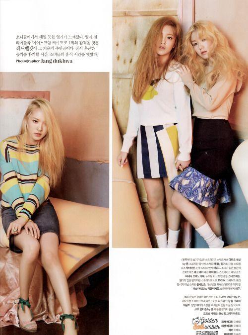 Red Velvet for The Celebrity Magazine May 2015 Issue cr; Golden Seulumber