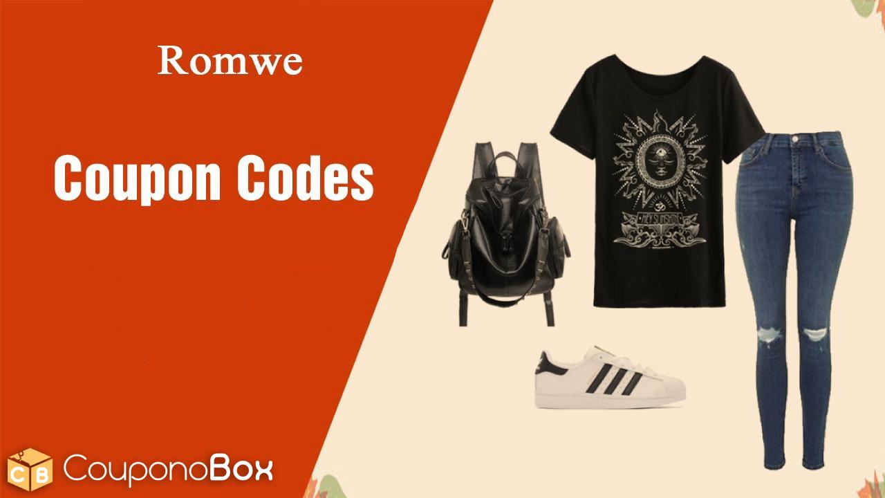 Romwe Coupon Codes May 2020