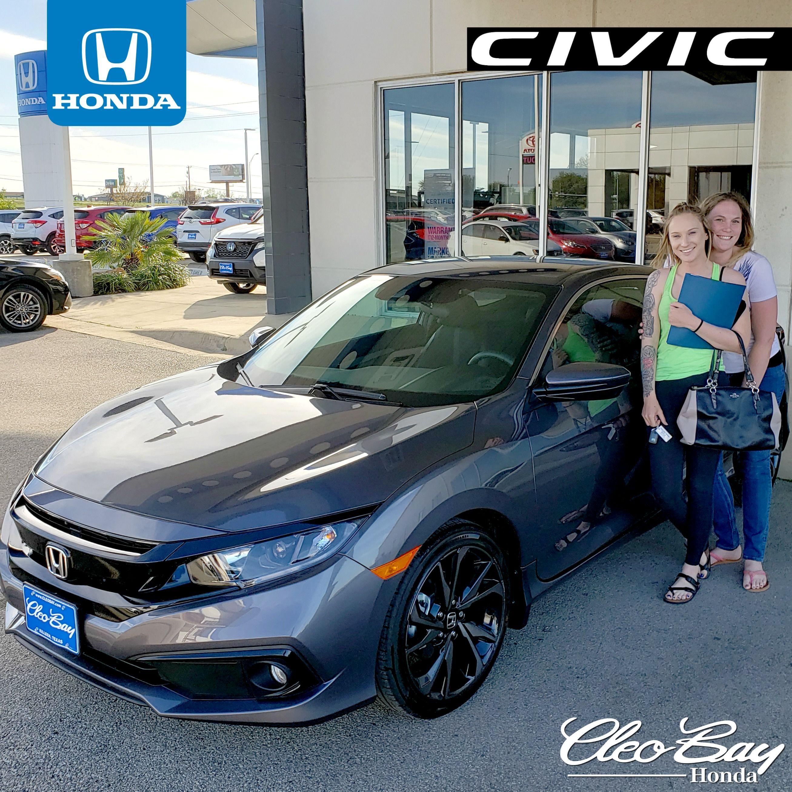 Cleo Bay Honda >> Congratulations Erica On Your Recent Purchase Of A New 2019