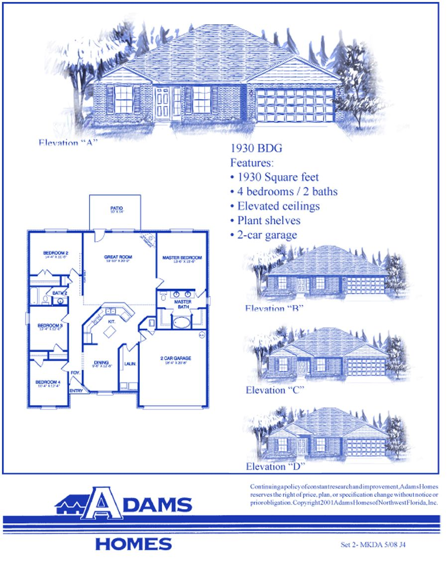 New Home Builders New Homes In The Oaks At Bristol Jacksonville Fl Adams Homes New Home Builders Home Builders