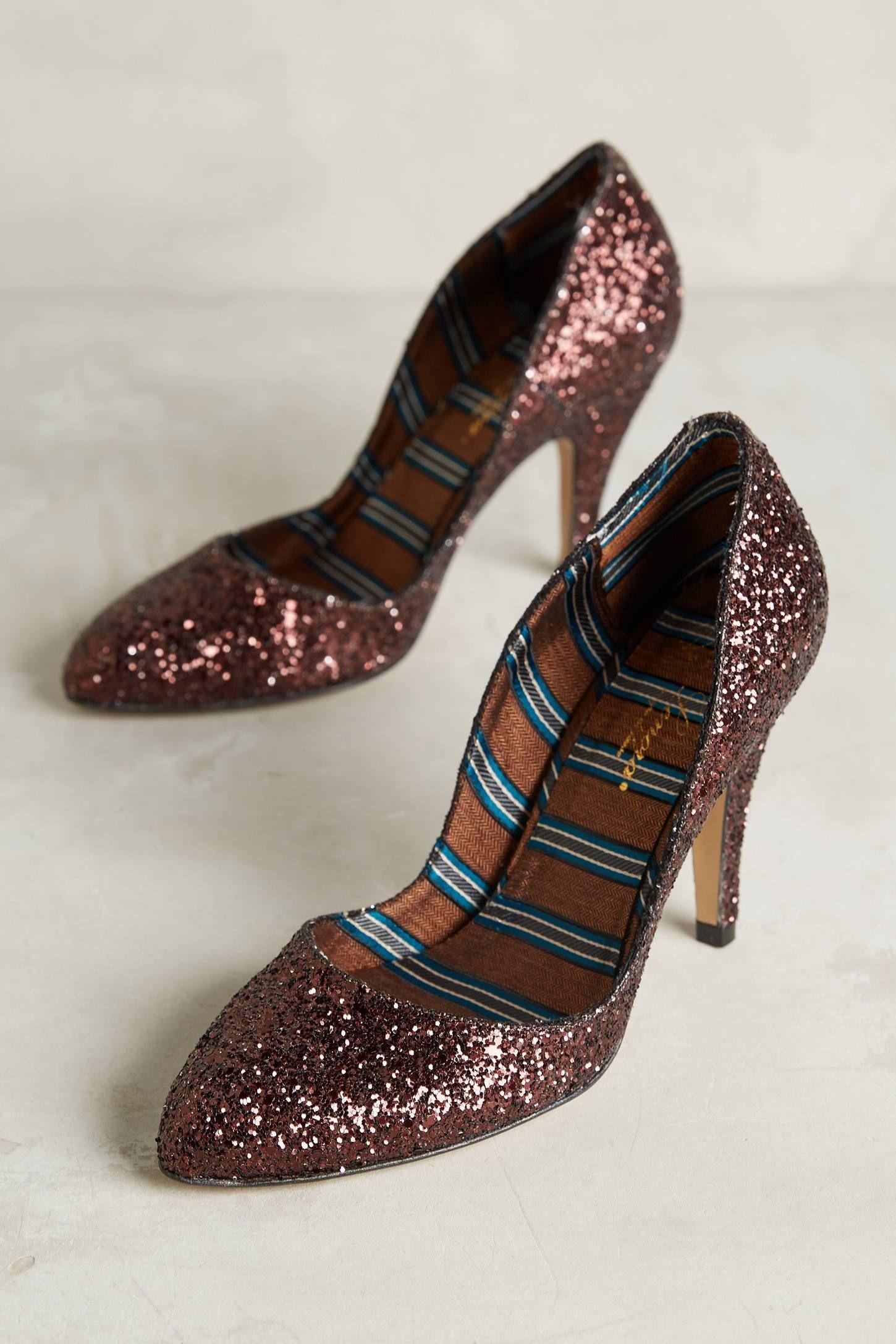 Lenora Scarpe di Lusso Vera Glitter Heels