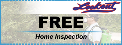 Free Home Inspections From Lookout Pest Control Home