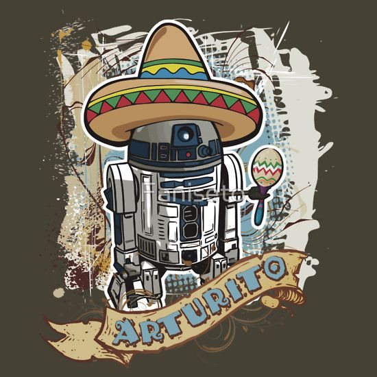 "May The Fourth Be With You Wookie: Arturito"" T-Shirts & Hoodies By Faniseto"