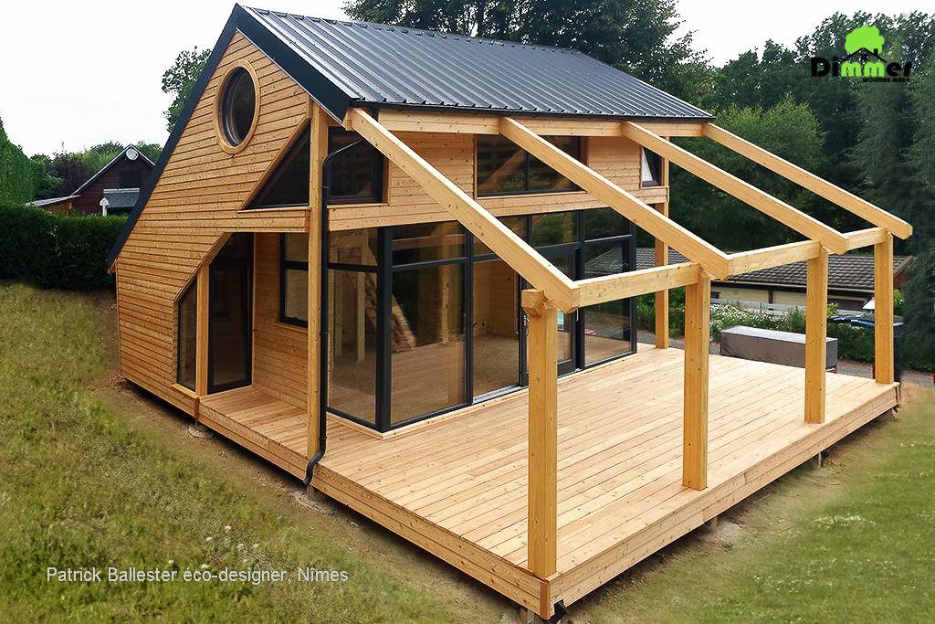 maison en bois pont de salars dimmer maisons bois. Black Bedroom Furniture Sets. Home Design Ideas