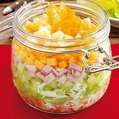 Photo of Fruchtiger Schichtsalat