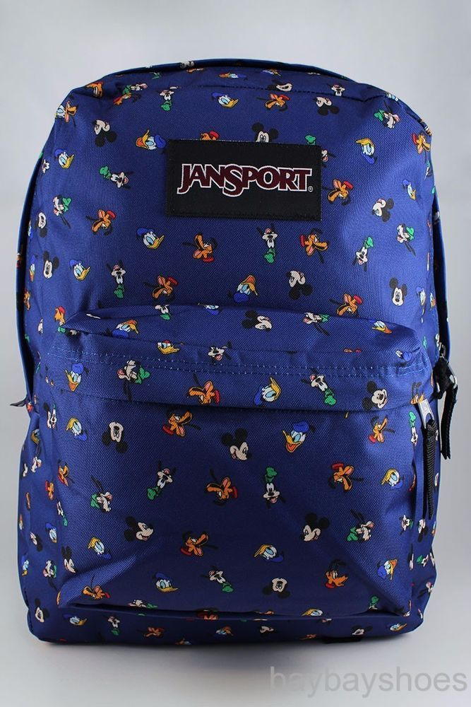 b894584ba59 Style Name Disney Superbreak. (Gang Dot Mickey Goofy Pluto Donald Print). -  Web haul handle. - Front utility pocket with organizer. Style   JS0A3BB338L.