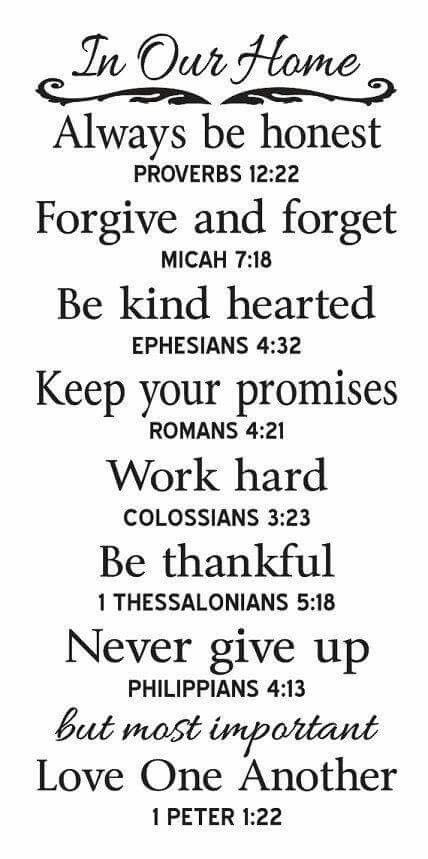 Bible verses to practice in your daily life