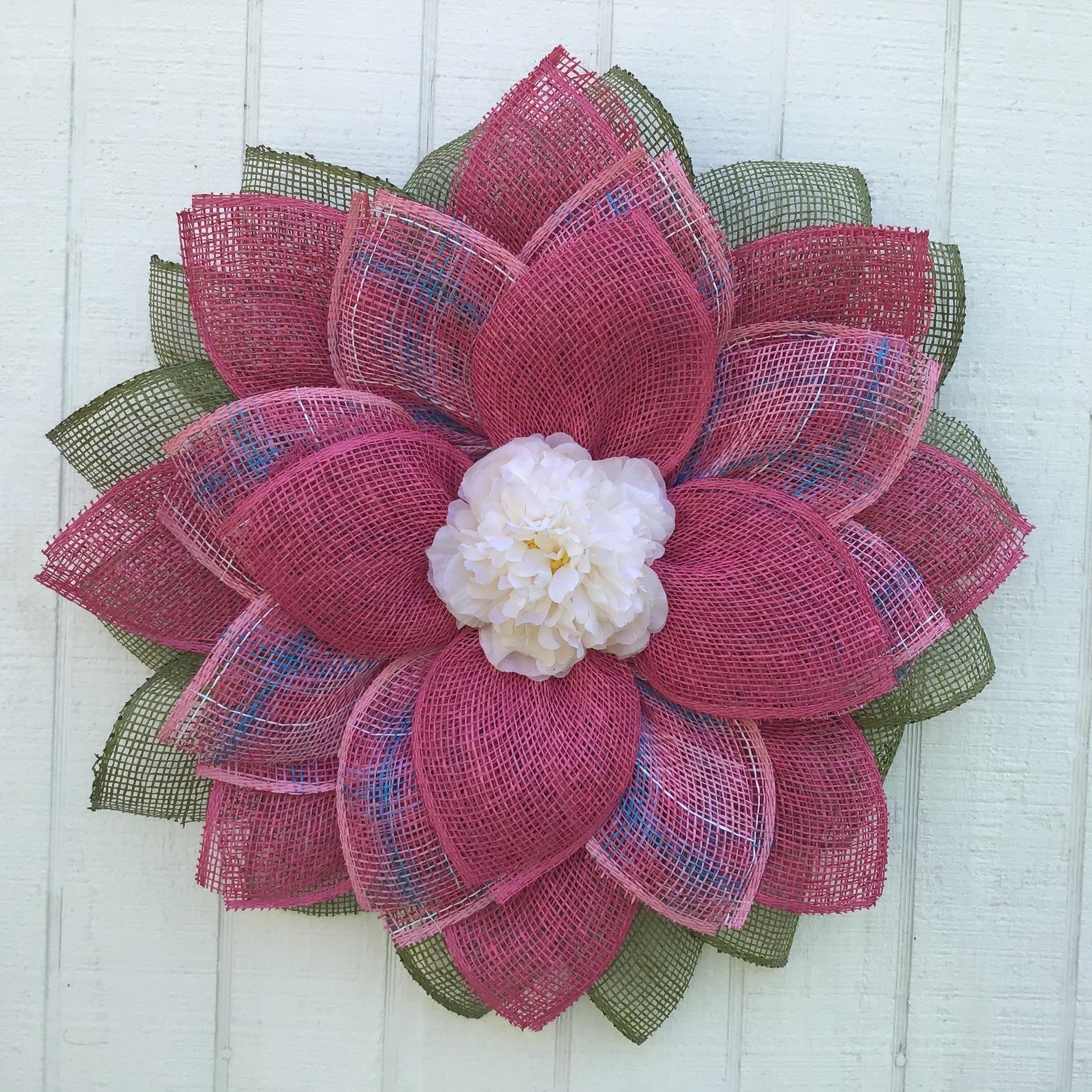 Small Spring Flower, Front Door Decor, Summer Decoration