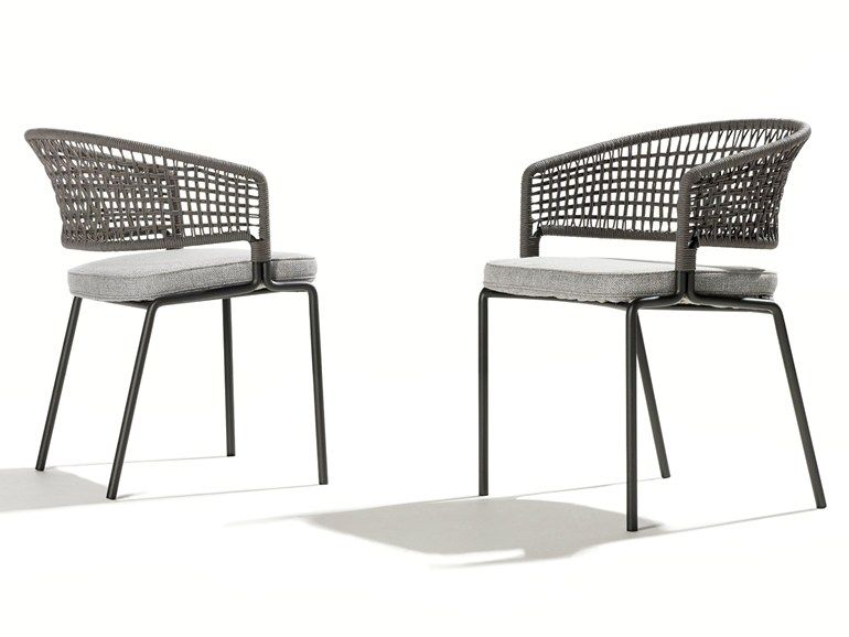 morgan outdoor wicker dining chair (cocoa) - dining chairs