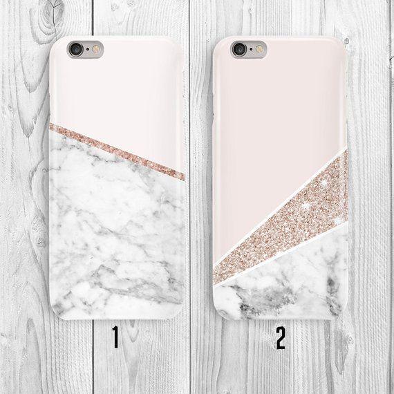 Marble Rose IPhone X Case. IPhone 8 Plus Case Samsung S8