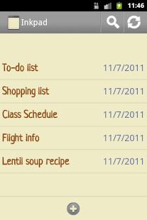 InkPad Notepad - Notes - To do - screenshot thumbnail | Google Play