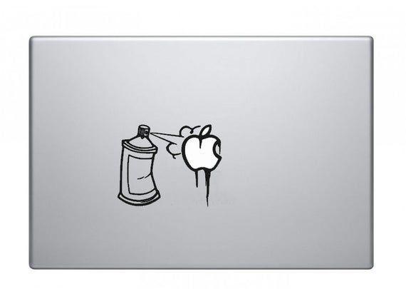 Graffiti Spray Can Macbook Decal Macbook Sticker Mac Decal Mac | Etsy