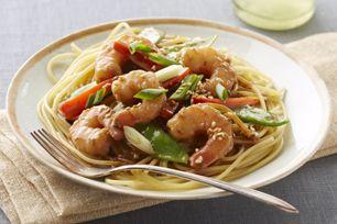 Asian Sesame-Shrimp Stir-Fry Recipe List - SaleWhale.ca