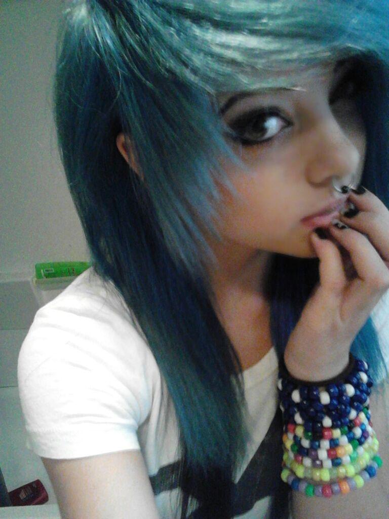 Cute scene blue hair hair tooot pinterest scene hair scene