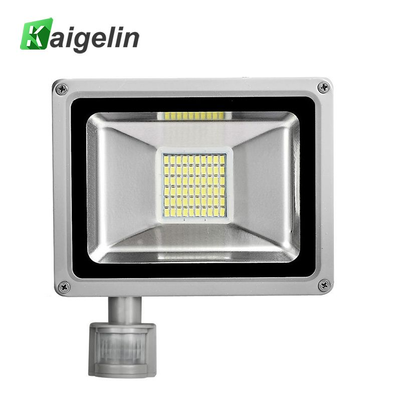 30 W 220 V 240 V Pir Capteur De Mouvement Infrarouge Led Lumiere D Inondation 3300lm Pir Motion Sensor Led Projecteur Led Lampe Pour L Eclairage Exterieur Led Flood Lights Sensor Lights Outdoor Led