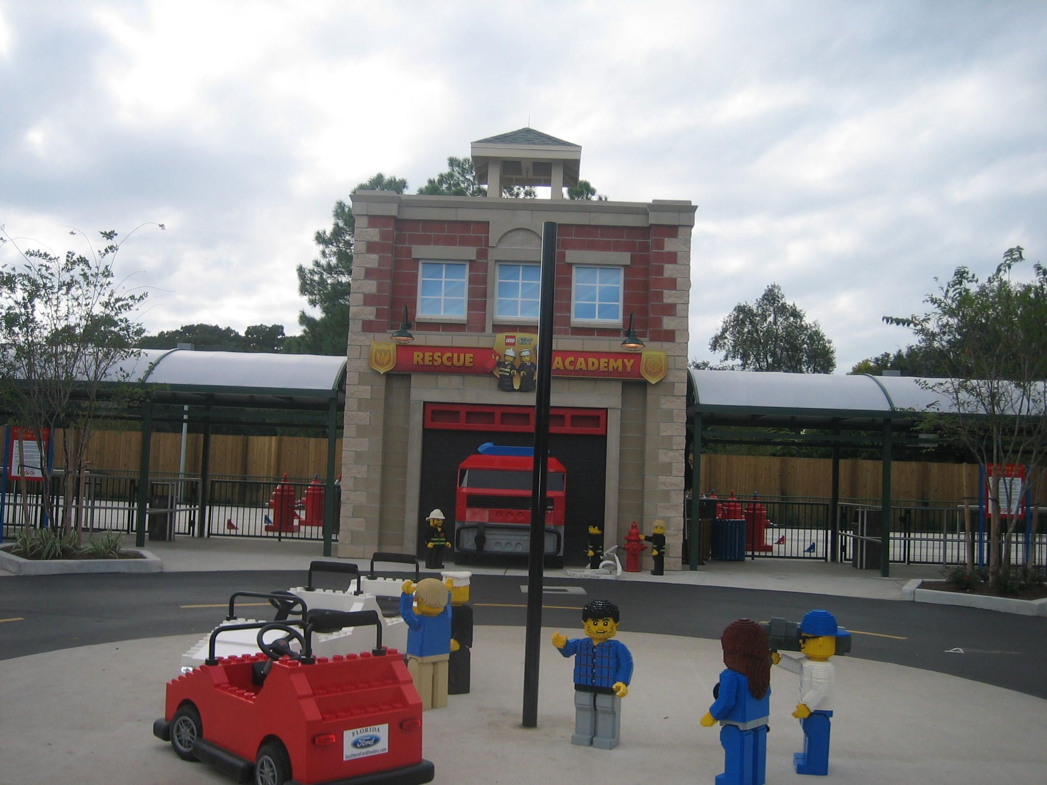 The Rescue Academy Is Always On Call At LEGOLAND FLORIDA And Thomas Sign