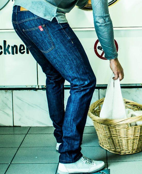 Bio-Jeans für Männer von Geniestreich