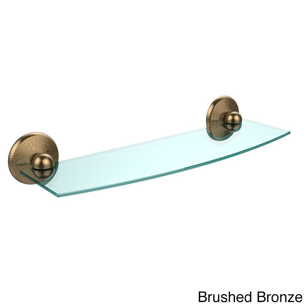 Allied Brass Monte Carlo Collection 18-inch Glass Shelf (Venetian ...
