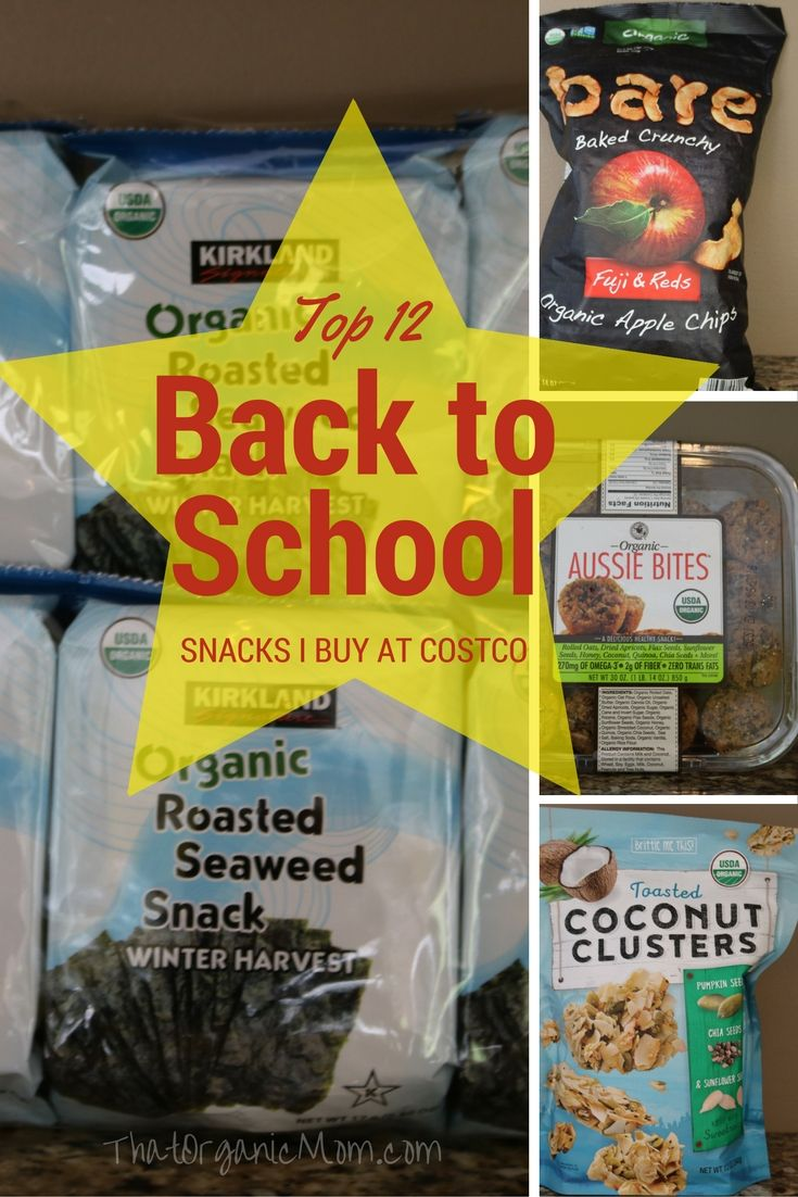 Top 12 Back To School Snacks I Buy At Costco With Images