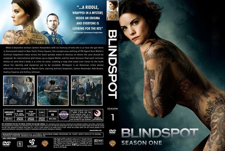 Blindspot Season 1 Custom Dvd Cover Custom Dvd Cover Art Cover