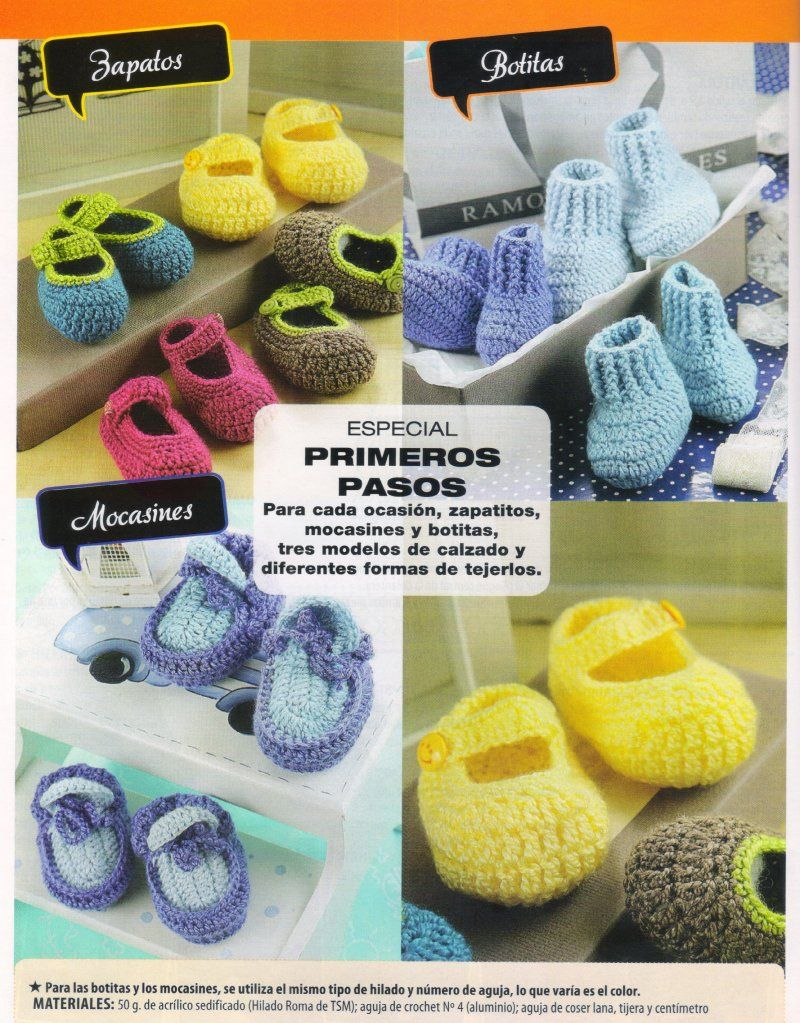Vistoso Los Patrones De Crochet Libre Para Botas Zapatilla Imagen ...