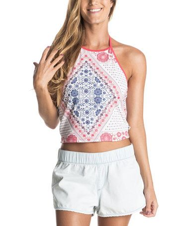 Another great find on #zulily! Bohemian Behavior Reversible Baby Palms Halter Top #zulilyfinds