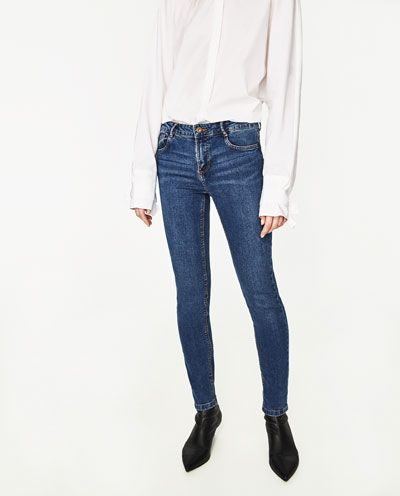 7faad4bca Image 2 of MID-RISE SKINNY FIT JEANS from Zara | Christmas ...