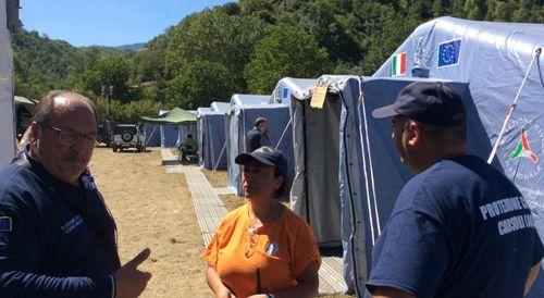 Emergenza sisma. Mazzocca: report attivita protezione civile 27-29 agosto