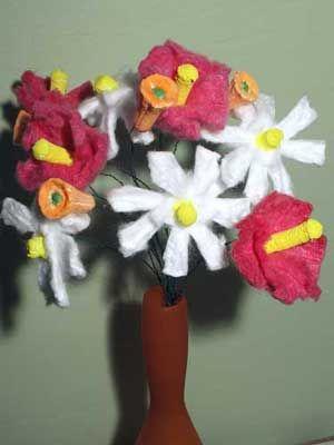 Tampon Flower Bouquet