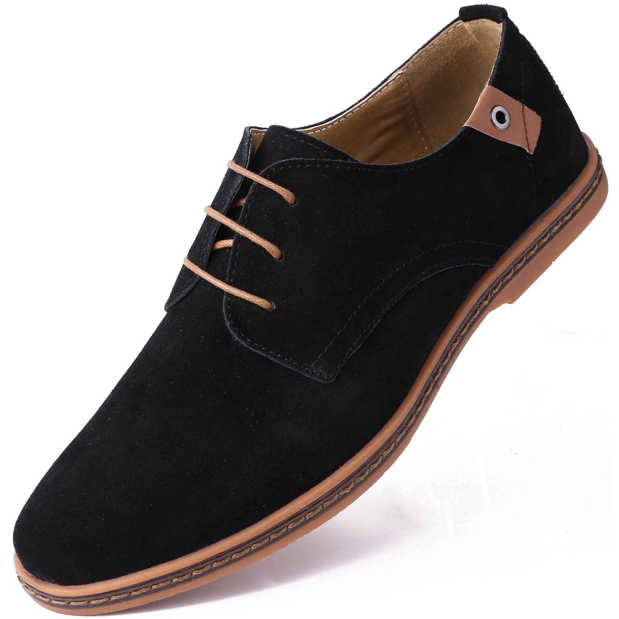 Mio Marino Mio Marino Men S Suede Derby Casual Dress Shoes Walmart Com In 2021 Dress Shoes Men Business Casual Shoes Mens Casual Shoes [ 2000 x 2000 Pixel ]