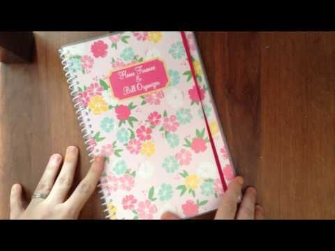 Dollar General Home Finance And Bill Organizer Personal Family Budget Planner Flip Through Somerand Budget Planner Family Budget Planner Bill Organization