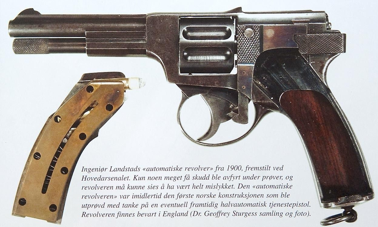 cerebralzero:  landstad Automatic Revolver