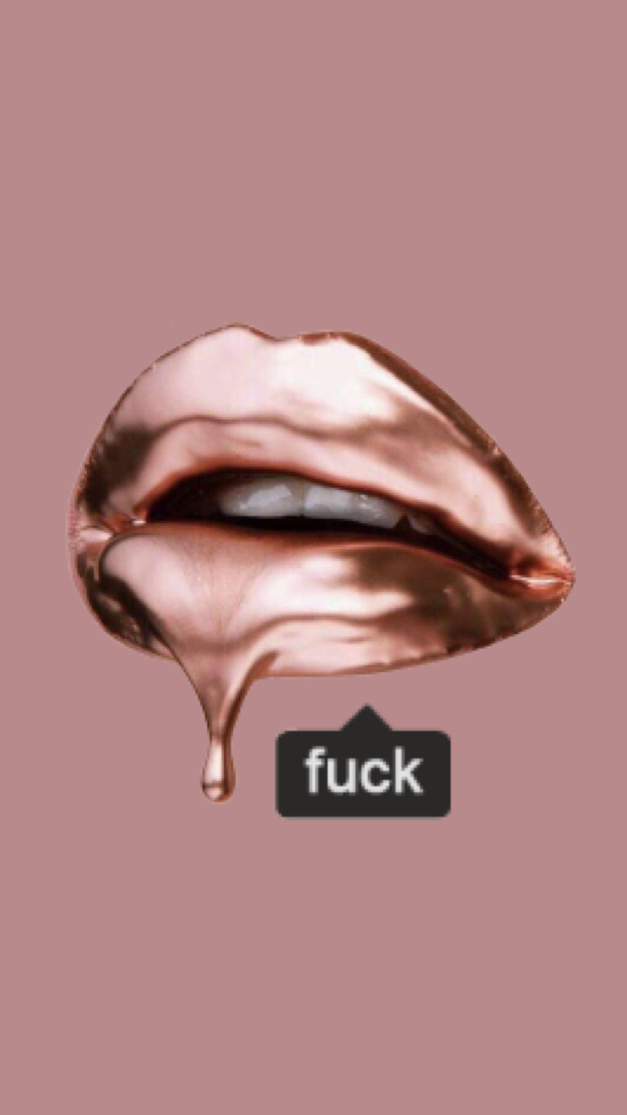 Fuck lips wallpaper made by Laurette