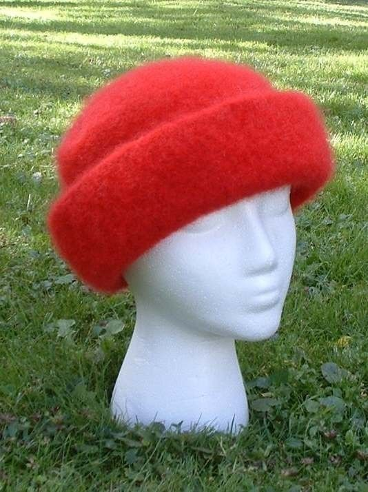 High Brim Felted Knit Hat Pattern PDF by pollywogs on Etsy, $4.50 ...